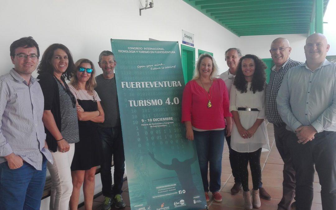 El Congreso Internacional Fuerteventura Turismo 4.0 'Open mind' se presenta en Lanzarote